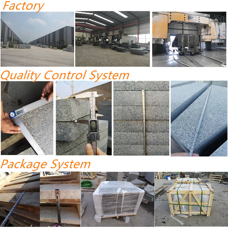 White granite factory