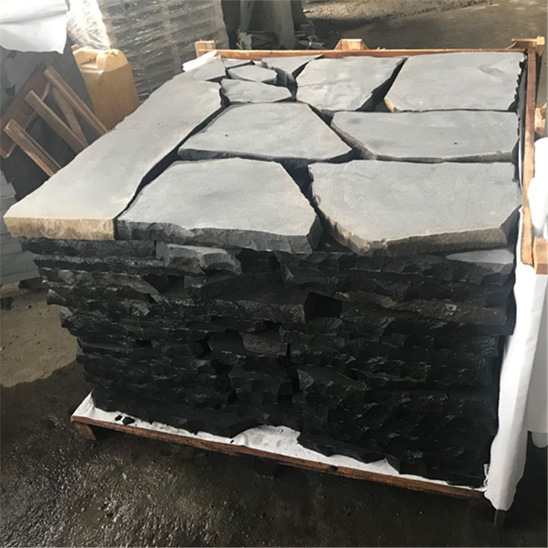 Large rectangular stepping stones
