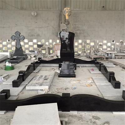 Absolute Black Granite Tombstone